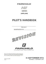 FAIRCHILD F-27 FRIENDSHIP SERIES AIRPLANE / PILOT'S HANDBOOK 1974