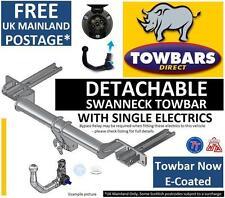Detachable Swanneck Towbar for VW Volkswagen Passat B7 Saloon & Estate 2010>2015