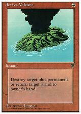 Active Volcano X4 EX/NM Chronicles MTG Magic Cards Common