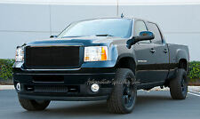 2007 2008 2009 2010 GMC SIERRA 1500 1PC UPPER BLACK BILLET GRILLE GRILL T-REX