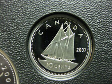 2007 Canadian Silver Proof Dime ($0.10)