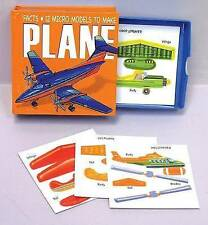Micro Models: Plane [With Board Book and Easy-To-Make Cardboard Model and Glue S