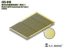 ET Model J35016 1/35 Modern NATO Camouflage Net Type.2