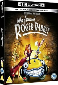 WHO FRAMED ROGER RABBIT 4K UHD  / NEW AND SEALED / PRE-SALE / WORLDWIDE SHIPPING