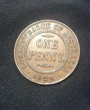 1928 Australian Broken 8 Penny