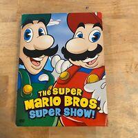 Super Mario Brothers Super Show - Vol. 1 (DVD, 2006, 4-Disc Set, Box Set)