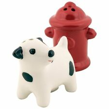 Design Imports - Dog & Fire Hydrant, Salt and Pepper Shaker Set (90187)