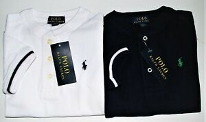 Boys Ralph Lauren Grandad Cotton Short Sleeve 3 Button top- 3yr - 20yr CLEARANCE