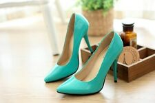 Women Pumps Strappy Stiletto High Heels Party/Wedding Shoes Big Size Pump Heel