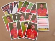 Liverpool Football Club 33 Cards Season 2012/13