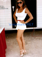"""SUPER """"HOT Busty & Leggy"""" """"Miss Direct Connection"""" 1984 """"Claudia"""" PHOTO! #(2f)"""