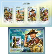 Boy Scouts Pfadfinder Scouting Sao Tome and Principe MNH stamp set