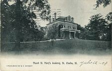 A View of Mount St Mary's Academy, St Charles IL 1908