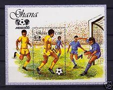 V5299 Ghana/ Olympia 1984-fussball Minr Block 109 ** Ghana