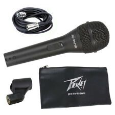 "Peavey PVi2 Cardioid Dynamic Microphone Includes 6m XLR to 1/4"" Lead + Carry Bag"