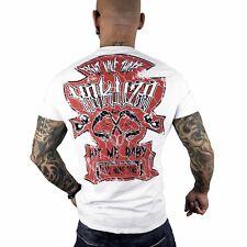 """YAKUZA - Herren T-Shirt TSB 10001 """"Hit Me"""" white (weiß)"""