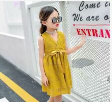 CASUAL KIDS DRESS AG 6802 - YELLOW