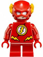 BN Genuine Lego the Flash minifigure DC comics superheroes fast mini figure 7606