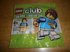 1 x Lego System Figur 4 Juniors Creator Mann Junge Max blau schwarz  7396 cre003