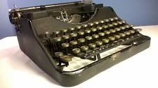 Hermes Media Vintage Antique Typewriter 1940's Swiss Portable w Case