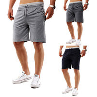 New Summer Men Gym Sports Jogging Cotton Shorts Pants Trousers Casual Half Pants