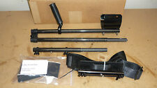 Carbon Fiber 3pc Rod and Hip Mount Package  for Minelab Excalibur Metal Detector