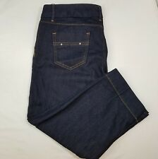 Banana Republic Denim Capri Jean Pants Size 6 Ladies Stretch Dark Blue Casual