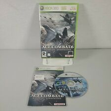 Ace Combat 6 Fires of Liberation XBOX 360 Action Video Game Anleitung PAL