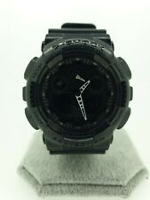 Casio GA-100-1A1ER G-Shock Alarm Chronograph Men's Watch - Black