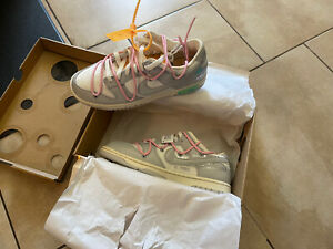 Nike Dunk Low x Off White Lot 9 - Brand New, Size 8.5  DM1602-109
