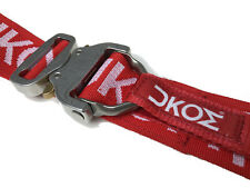 UKOM AustriAlpin RED Thor Belt 100% UK Made