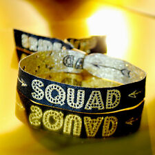 BRIDE SQUAD Hen Party Wristbands / Bachelorette Party Bracelets / Bride Tribe