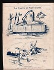 WWI Caricature Pickelhaube Guerre /Map Germany Austria Hungary 1915 ILLUSTRATION