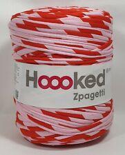 Hoooked `Zpagetti Stoffgarn Rosa,Rot Töne` Neu,Häkeln,Stricken 902