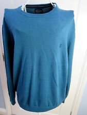JOULES Mens JARVIS Crew Neck Jumper Sweater Size XL 100% Cotton Knit EXC CON