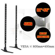 Universal TV Stand Pedestal Bracket VESA Desktop Riser Rack for LED LCD Plasma