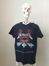 METALLICA Master Of Puppets T-shirt 2 Sided Small