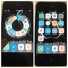 iOS 7 JAILBROKEN UNTETHERED Apple iPhone 4 Black VERIZON Jailbreak 8gb CYDIA! 