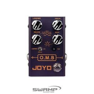 JOYO R-06 O.M.B Looper and Drum Machine Guitar Effects Pedal - Revolution Series