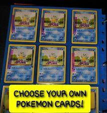 Pokemon Base Set Unlimited 1999 *Choose Your Card* Non Holo Rare Uncommon Common
