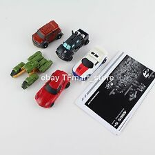 Transformers Straightway Shootout IronHide Swerve Mudflap Runamuck SparkCrusher