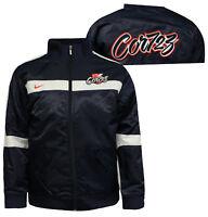 Nike Baseball Juniors Boys Zip Up Bomber Jacket Coat Navy 237623 451 A