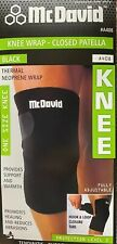 McDavid Closed Patella Knee Wrap A408 Thermal Neoprene Brace One size Fits all
