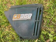 HONDA CB360T BOTH SIDE COVER PANELS WITH EMBLEMS