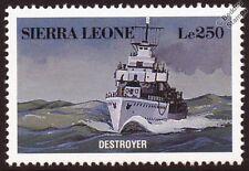 Navy DESTROYER WWII Warship Ship Stamp
