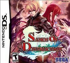 Sands of Destruction. Nintendo DS/DSi/3DS. Rare. RPG. Free Shipping. Sega