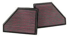 K&N  PANEL FILTER-BMW X5 4.8L V8 2008 2 IN BOX,LEFT & RIGHT - KN 33-2407