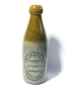 Barnsley Bottling Co. Church St Stoneware Ginger Beer Bottle a/f