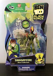 Ben10 Alien Force Swampfire Alien Collection Figure Bandai 2008 NIB