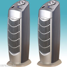 TWO NEW IONIC AIR PURIFIER PRO IONIZER IONS FRESH BREEZE UV OZONE AIR CLEANER 08